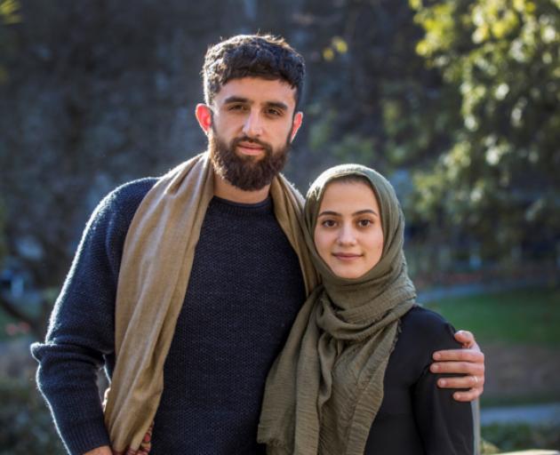 Bariz Shah and Saba Afrasyabi. Photo: Supplied