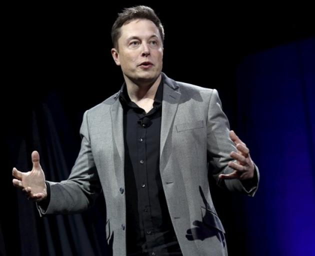 Tesla Motors CEO Elon Musk. Photo: Reuters