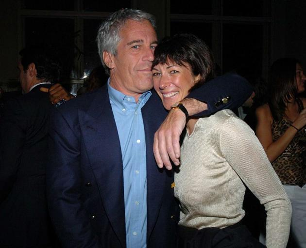 Jeffrey Epstein and Ghislaine Maxwell. Photo: Getty Images
