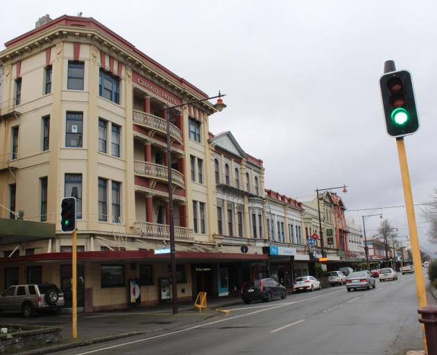 Some Invercargill Dee St business owners are wanting anti-social behaviour in the area to be put to an end. Photo: Southland Express