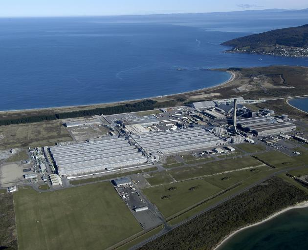 Tiwai uses about 13% of New Zealand's electricity output. PHOTO: ODT FILES