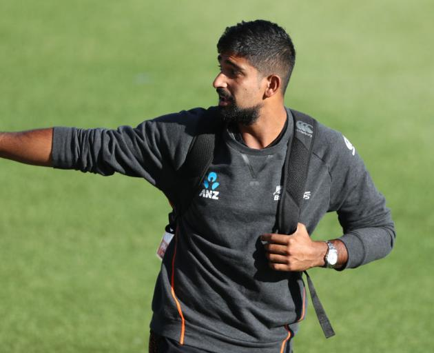 Ish Sodhi appears to have pipped Todd Astle for the Black Caps World Cup squad. Photo: Getty Images