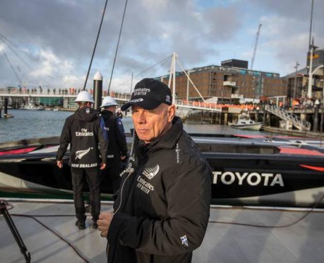 Team New Zealand boss Grant Dalton. Photo: NZ Herald