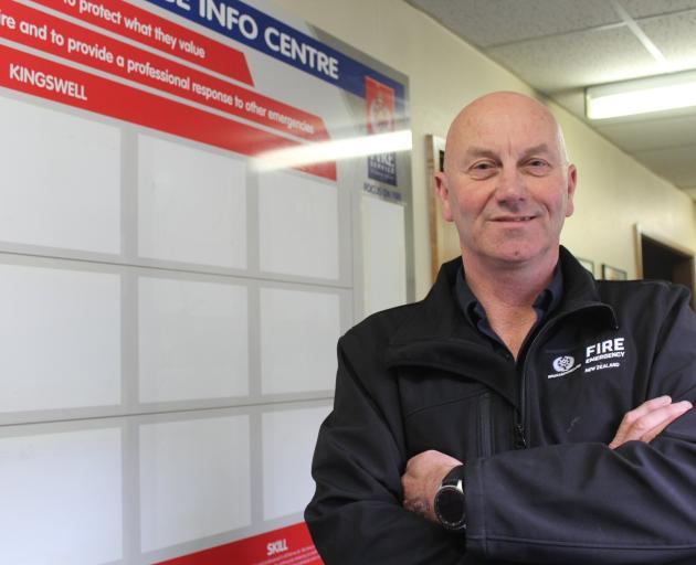 Invercargill chief fire investigator Murray Milne-Maresca.