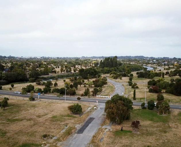 Illuminating the residential red zone is costing the city council $140,000 a year. Photo: Geoff...