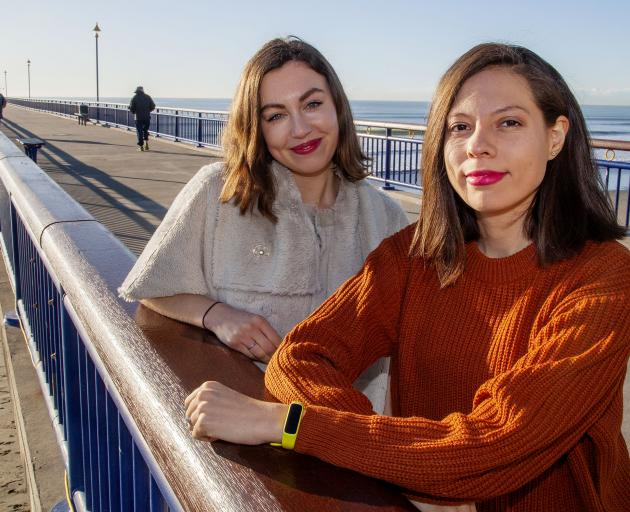 A film showcasing New Brighton's beauty and resilience by Claudia Stewart (left) and Tabitha...