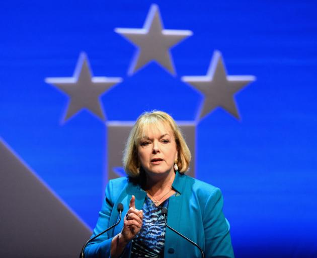Judith Collins is the new leader of the National Party. Photo: Getty Images