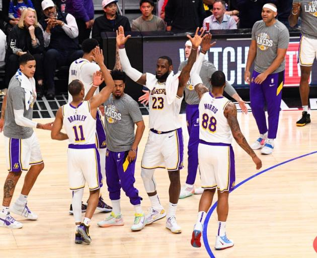 LeBron James and the Los Angeles Lakers will be one of 22 teams playing in the NBA bubble in...