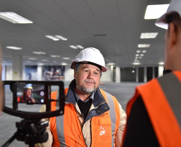 New hospital programme director Mike Barns. Photo: Gregor Richardson