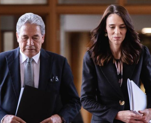 Jacinda Ardern attributed Winston Peters' comment on Tuesday that a Labour-Green government would...