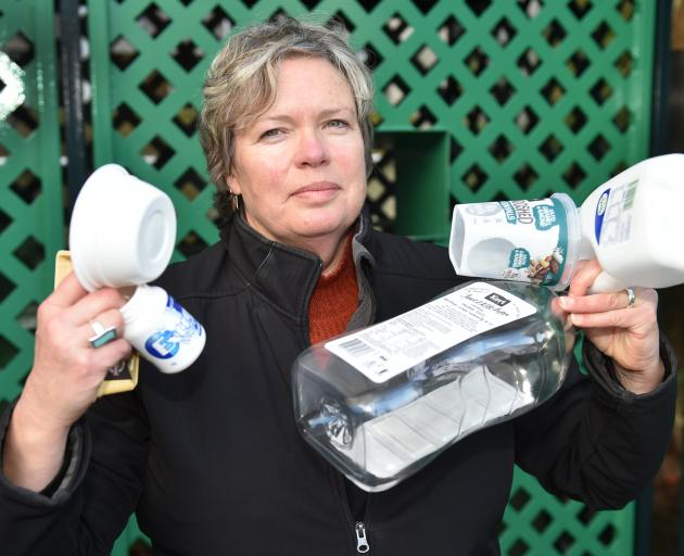 Dunedin City Council waste and environment solutions education and promotions officer Catherine...