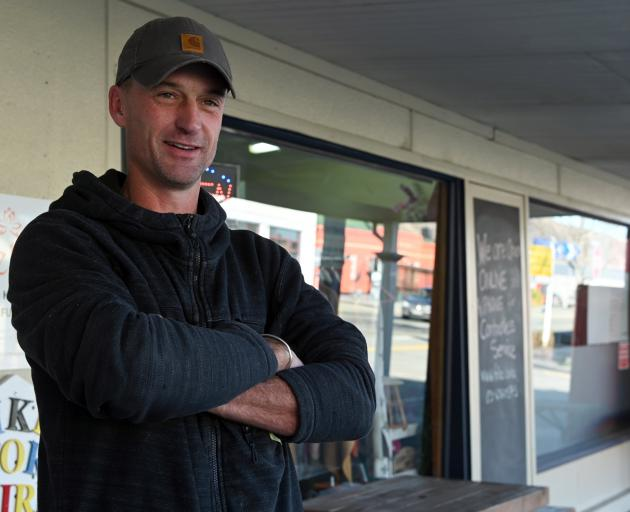 Kurow earthmover Fraser Sim thinks it is time for a change of government.  PHOTOS: CRAIG BAXTER