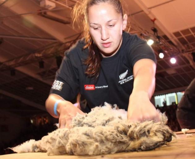 Top wool handler and wool classer Tia Potae, of Milton, has a new role as a virtual 'rural...