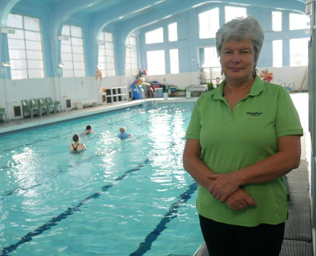 Physio Pool supervisor Gaye Davies says swimmers are pleased the pool has reopened after the...
