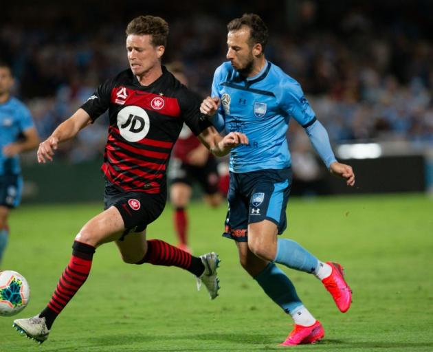 Western Sydney Wanderers defender Patrick Ziegler and Sydney FC forward Adam Le Fondre may play...