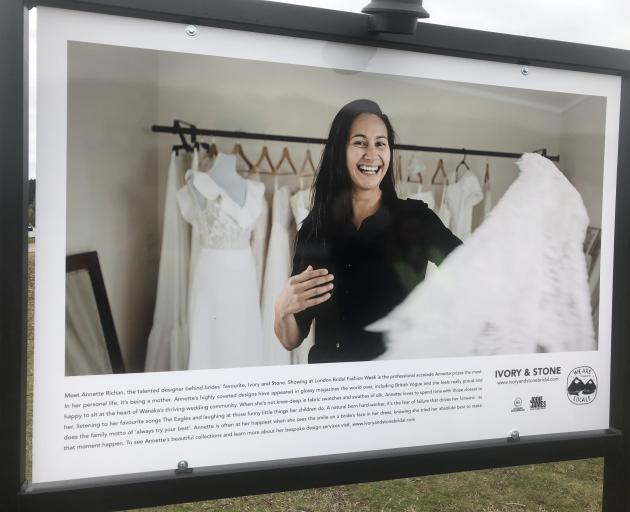 Ivory and Stone Bridal Boutique owner Annette Richan has showcased her designs at the London...