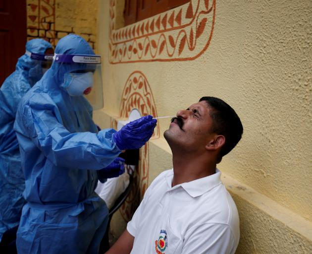 India sets new world record with 78,761 virus cases daily