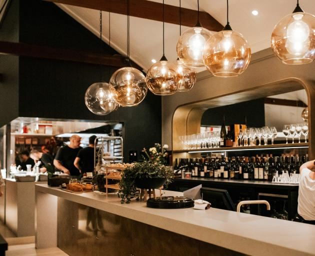 Aosta restaurant in Arrowtown by Anna-Marie Chin Architects. Photo: Kate Roberge