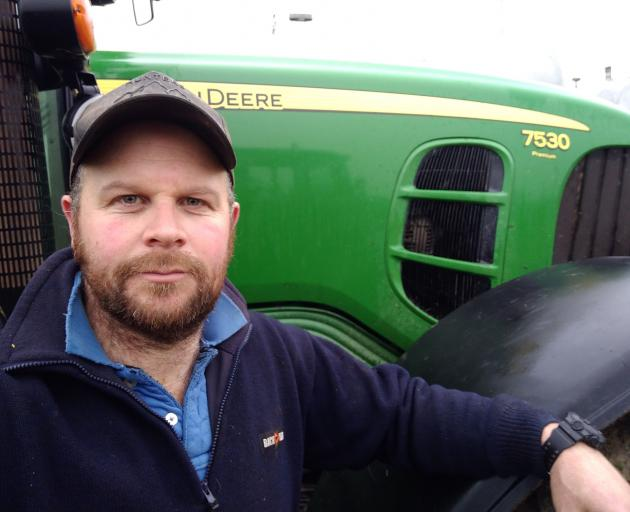 West Otago dairy farmer Bruce Eade says farmers are tired of being painted as villains. PHOTO:...