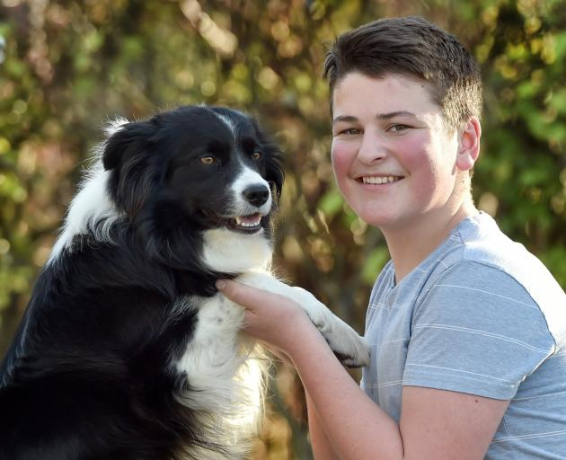 King's High School pupil Jake Remon excelled in the South Island secondary schools dog agility...