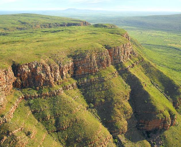 The King Leopold Ranges, a mountain chain in Western Australia, has been renamed Wunaamin...