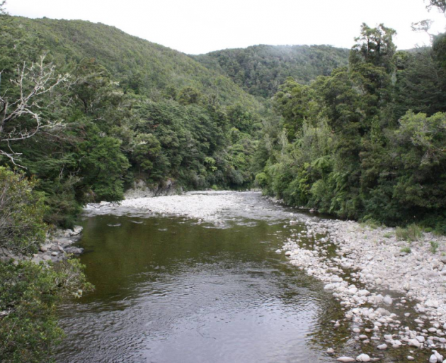 At the Hutt River, near Wellington, scientists found little sign of harmful microbes. Photo:...