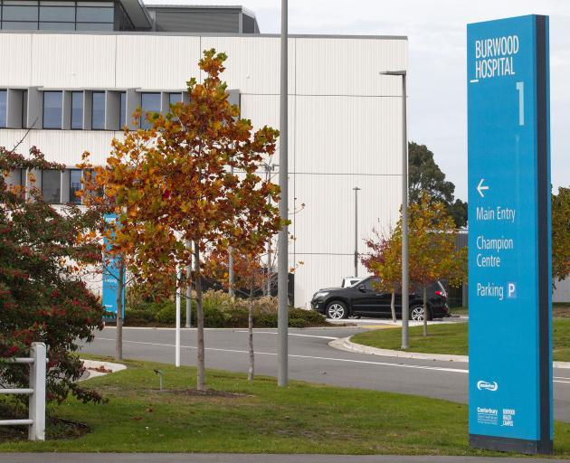 Burwood Hospital. Photo: Geoff Sloan