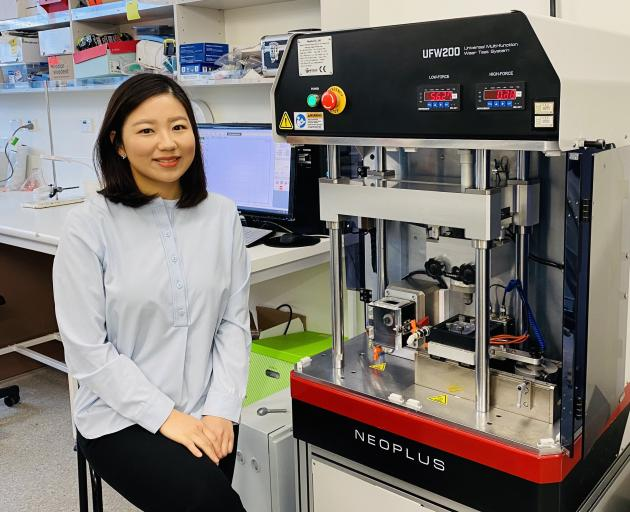 University of Otago oral rehabilitation lecturer Dr Joanne Choi, of the Otago Faculty of...