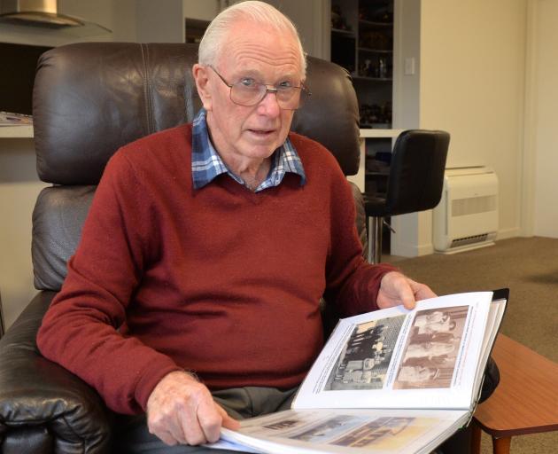 John Bradley, of Mosgiel, reflects on a family history he has created. PHOTO: LINDA ROBERTSON