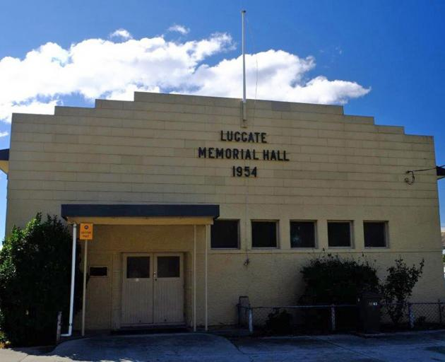 The Luggate Memorial Hall. Photo: QLDC
