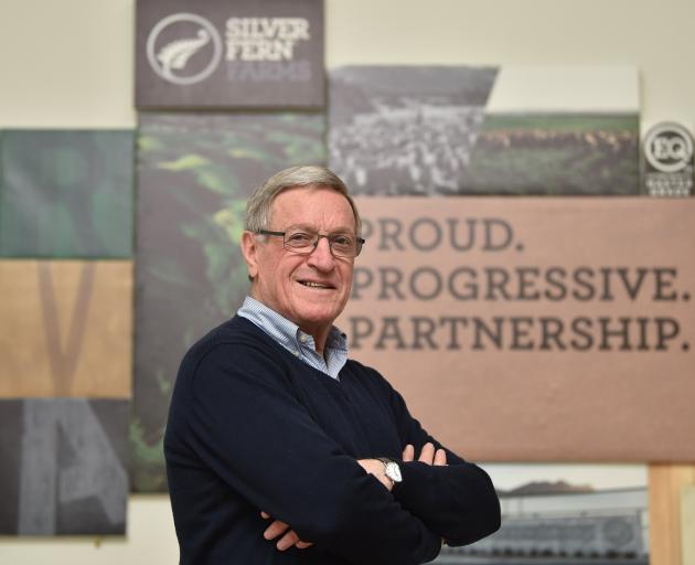 Lyn Jaffray is retiring from Silver Fern Farms after a lengthy tenure with the company. PHOTO:...