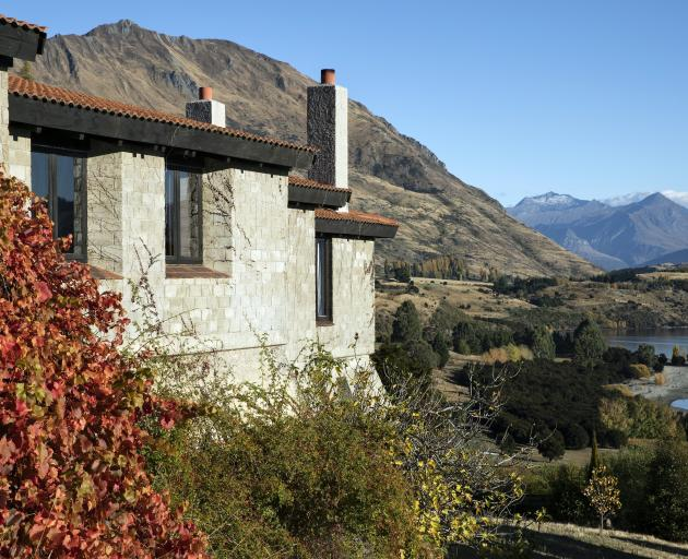 The Mills residence in Wanaka designed by Mason & Wales in 1973.