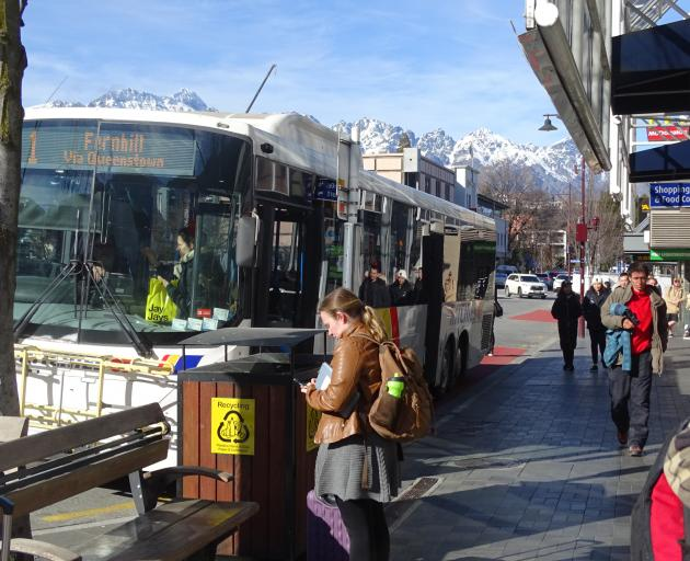 Orbus, the Wakatipu's $2 bus service, has recorded more than 600,000 trips in the first six...