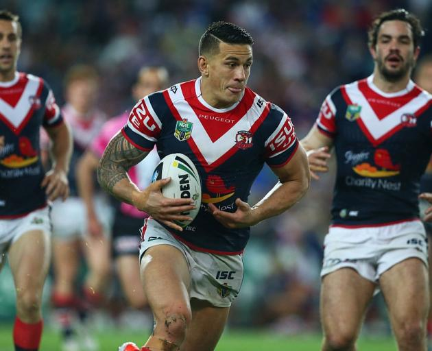 Sonny Bill Williams last played for the Sydney Roosters in 2014. Photo: Getty Images