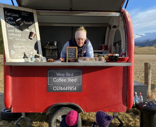 Stacey Weir has ventured into business ownership serving coffee and treats at the end of her...
