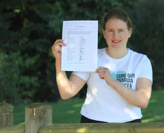Jane Ludemann has launched a petition to Parliament, asking for better education and testing...