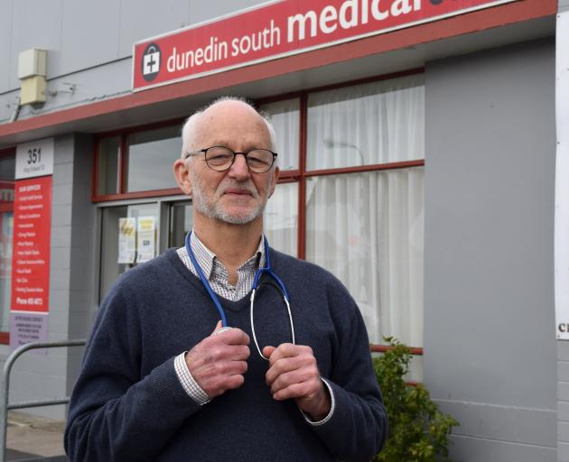 Dunedin South Medical Centre general practitioner Andy Stewart retired after working in the same...