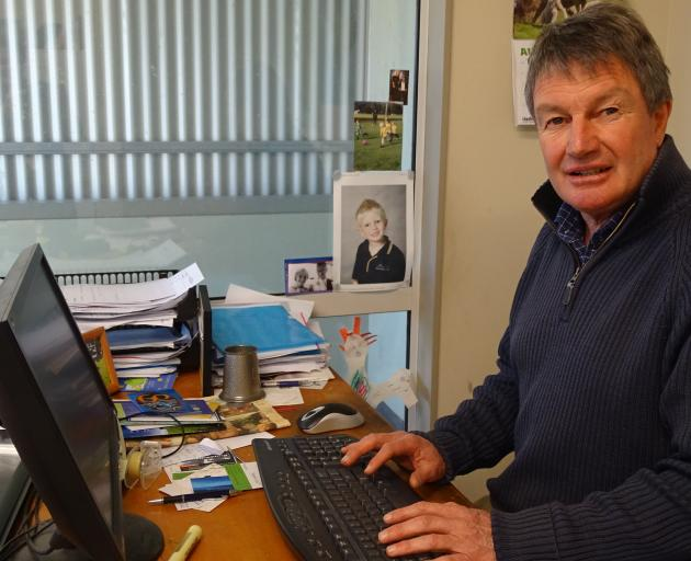 Wanaka sheep breeder Andy Ramsden is developing wools to meet the needs of the future. PHOTO:...