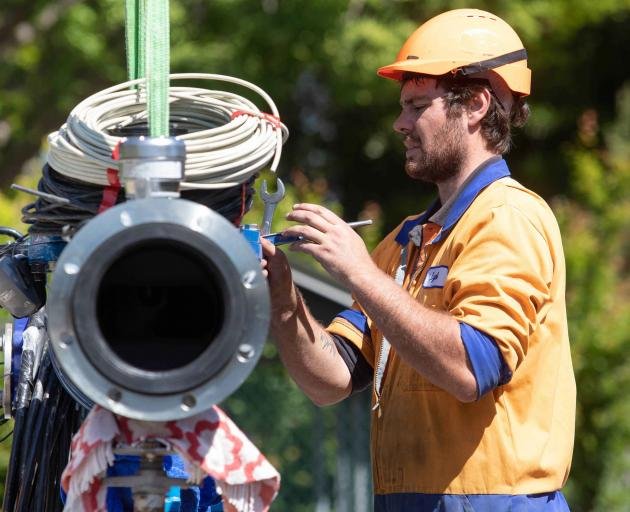 A total of 119 below-ground well heads have been upgraded across the city. Photo: Newsline / CCC