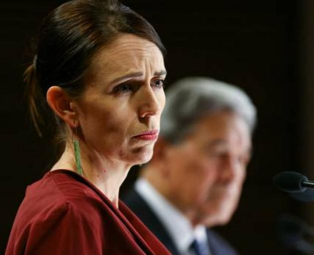 The families of Jacinda Ardern and Winston Peters were on a leaked list. Photo: Getty Images