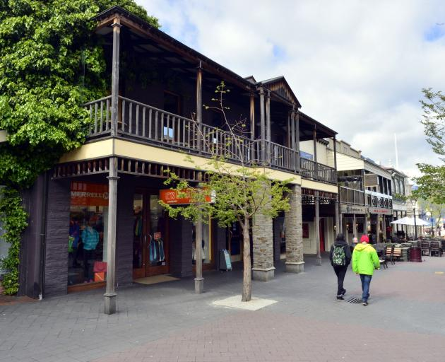 Winnies bar in the Queenstown mall. Photo: ODT files