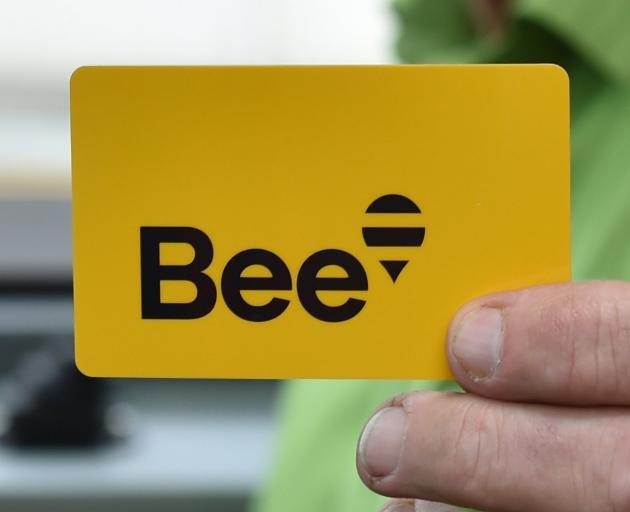 The new Bee Card. PHOTO: GREGOR RICHARDSON