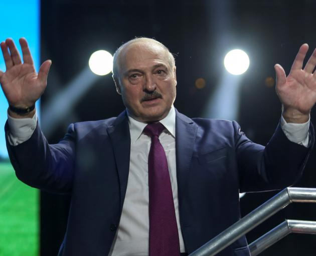 Belarusian President Alexander Lukashenko. Photo: Tut.By via Reuters
