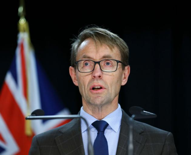 Director-General of Health Dr Ashley Bloomfield. Photo: Getty Images