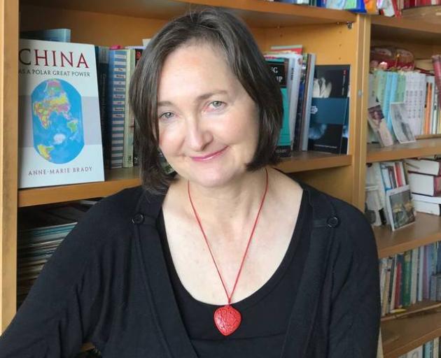 Professor Anne-Marie Brady. Photo: supplied