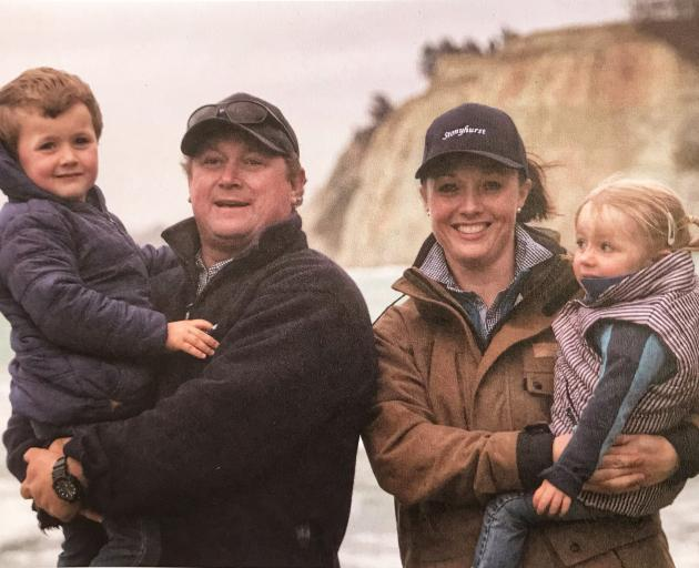 Charlie and Erin Douglas-Clifford enjoy raising their ...