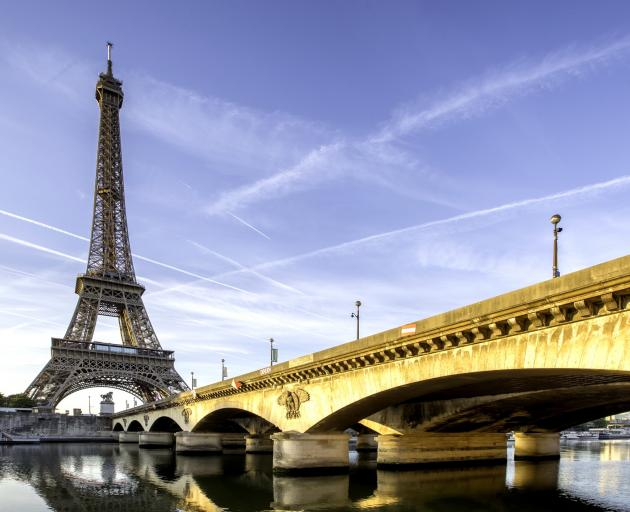 Their research showed that the Eiffel Tower in Paris is the landmark that people complain about...