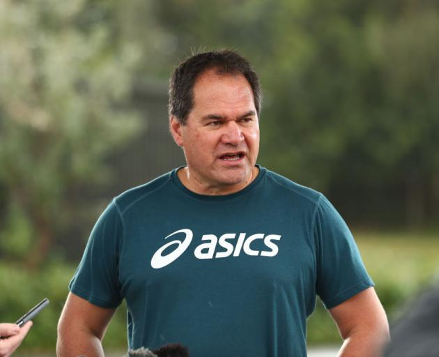 Wallabies coach Dave Rennie. Photo: Getty Images