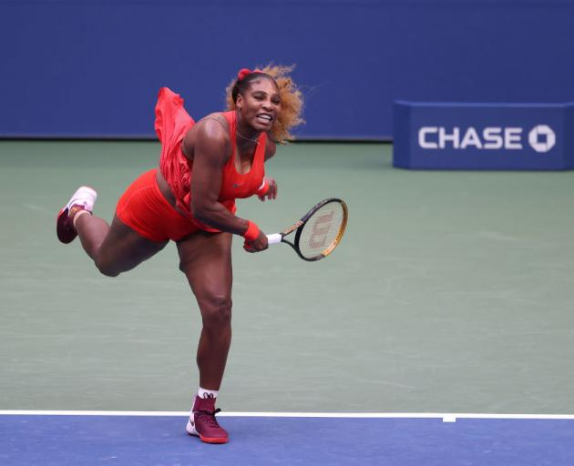 Williams continues bid for 24th Grand Slam title after round one victory