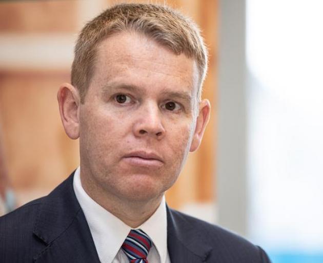 Health Minister Chris Hipkins. Photo: RNZ